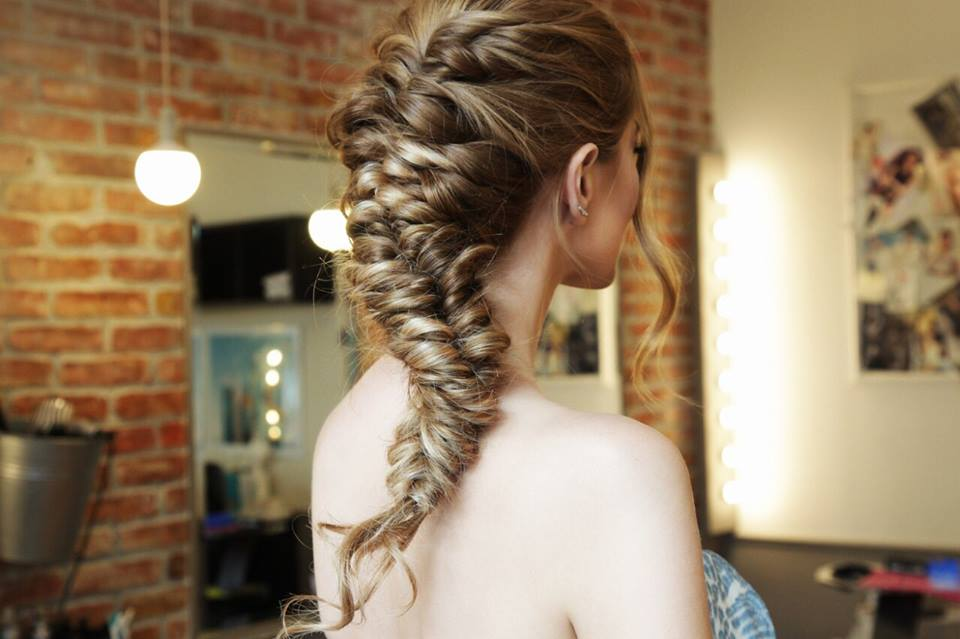Sirena pletenica (mermaid braid)